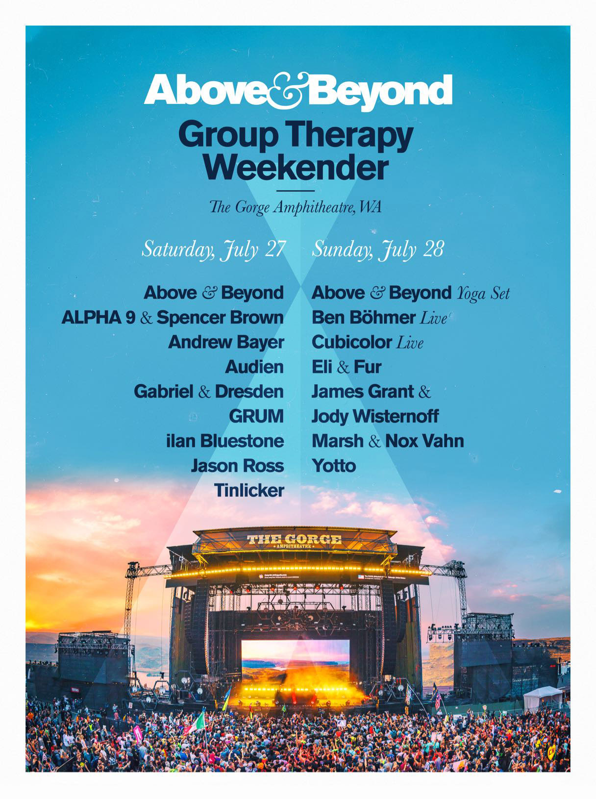 Group Therapy Weekender